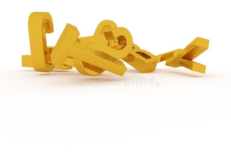 Оформление CGI, письмо алфавитного знака ABC для текстуры дизайна, предпосылки Название, перевод, слово & фон бесплатная иллюстрация