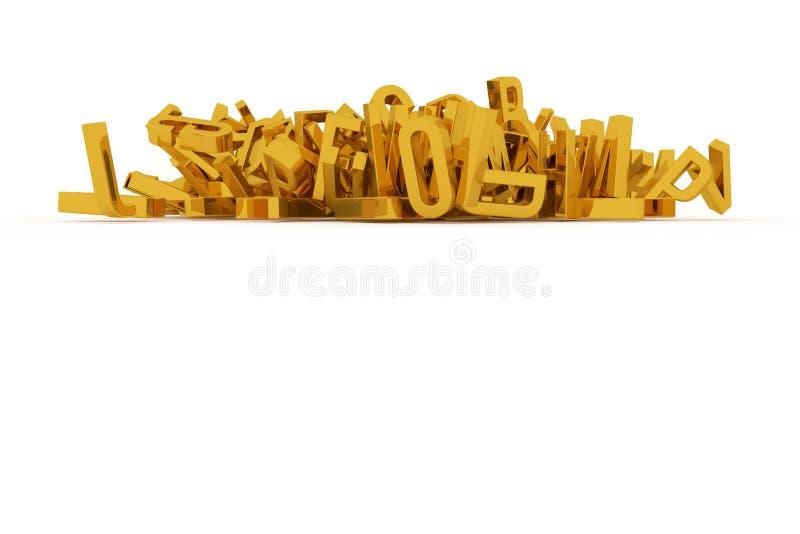 Оформление CGI, письмо ABC, алфавита для текстуры дизайна, задней части бесплатная иллюстрация