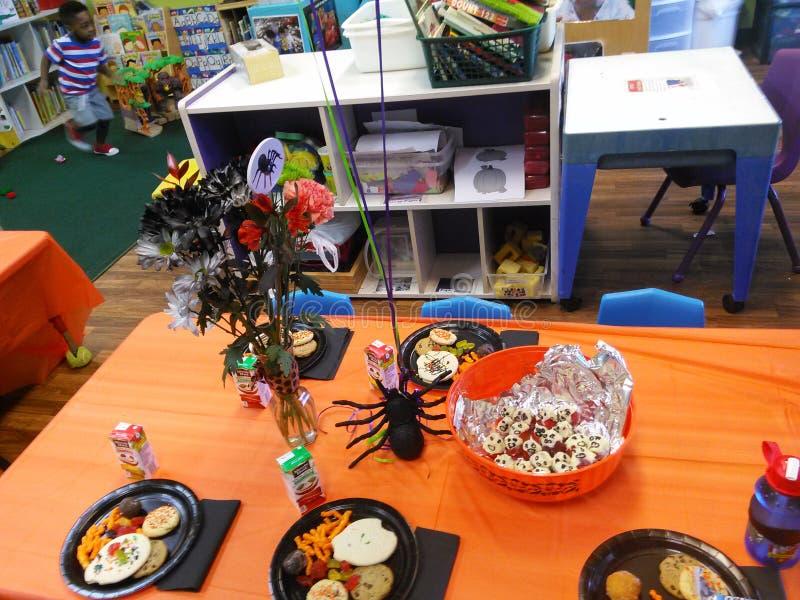 Оформление партии хеллоуина стоковое фото rf
