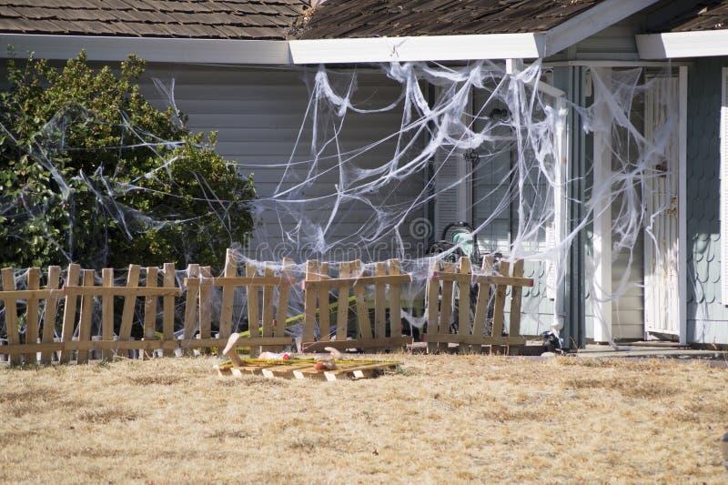 Оформление хеллоуина стоковое изображение