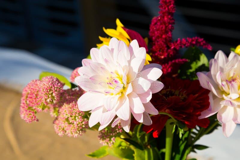 Оформление цветка свадьбы стоковые изображения rf