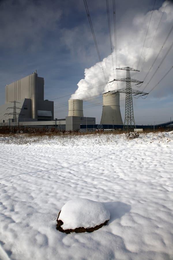 Охладители электростанции стоковые фото