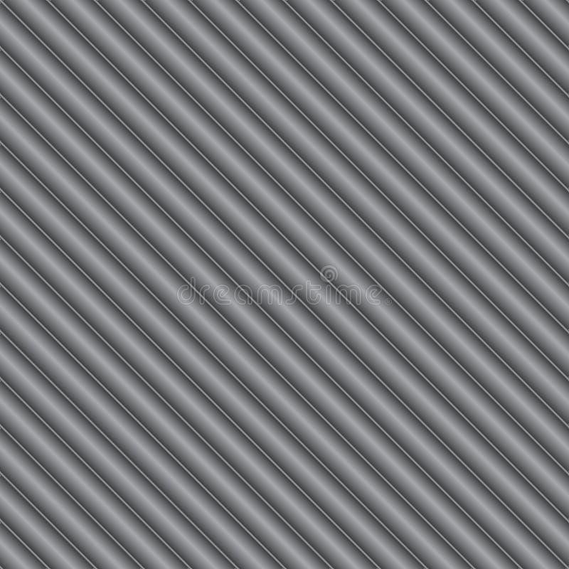 Охладьте металлический серебр или серую предпосылку металла иллюстрация вектора