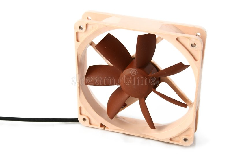 охлаждающий вентилятор 12cm стоковые фотографии rf