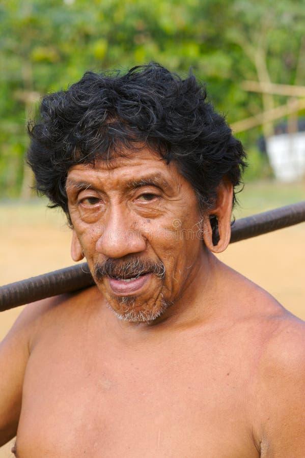 охотники Амазонкы стоковая фотография