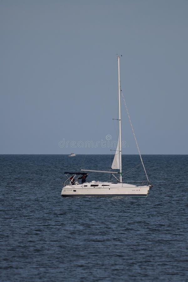 Охотник 33 на Lake Erie стоковые фото