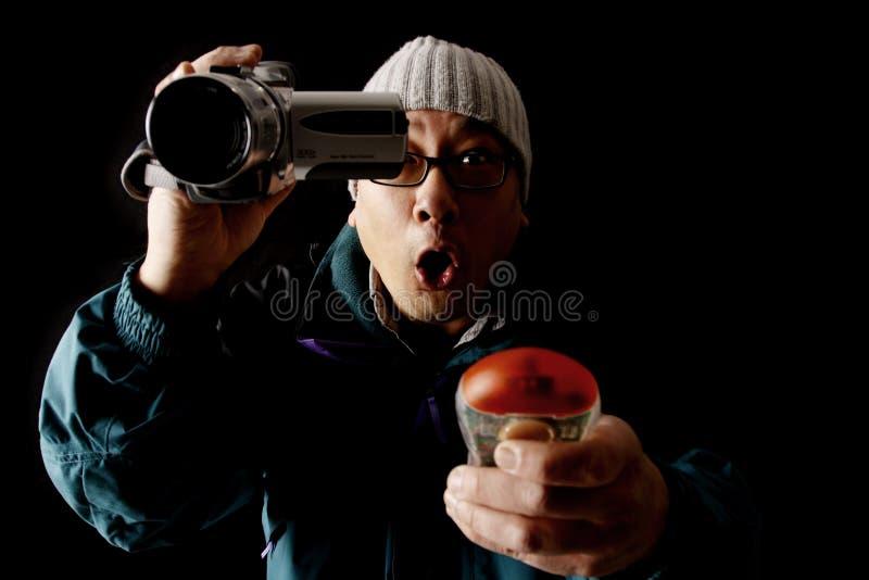 охотник привидения стоковые фотографии rf