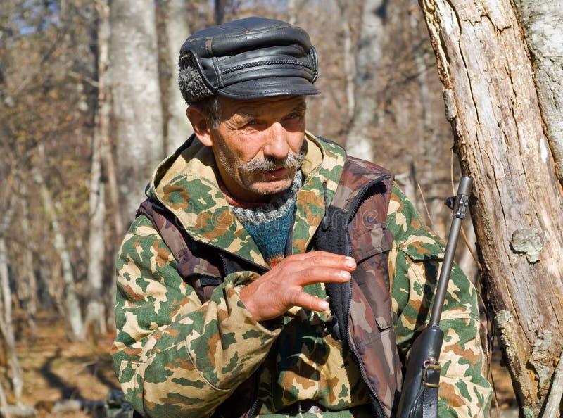 охотник 9 стоковая фотография rf