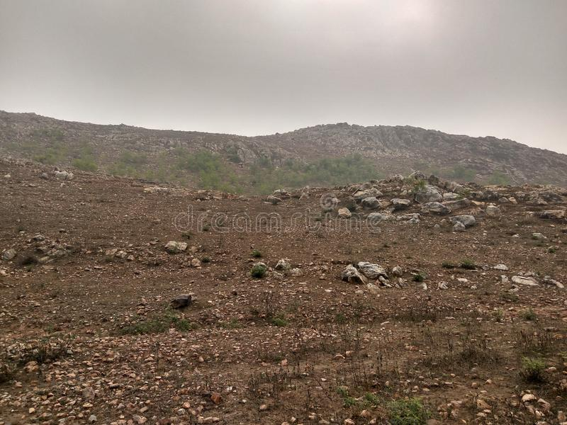 Охлаженная гора стоковое изображение rf