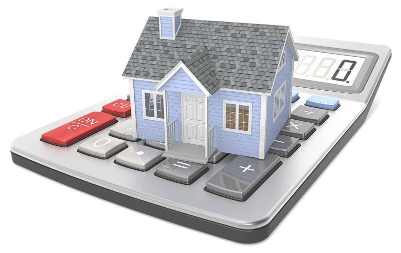Оценка дома. бесплатная иллюстрация