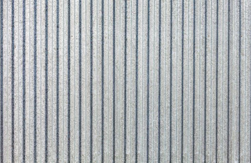 Оцинкованная жесть - рифлёная текстура поверхности металла с космосом экземпляра стоковые изображения rf