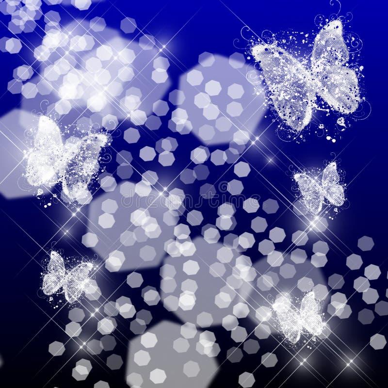 очарование бабочки иллюстрация вектора