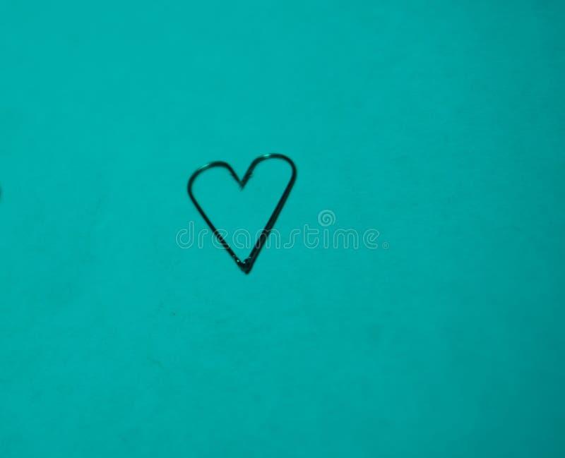 Очень близкие крюки и черви сердца стоковое изображение
