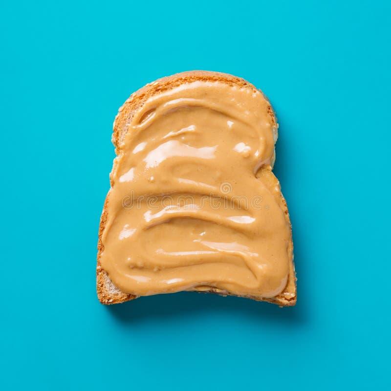 Очень вкусная здравица с арахисовым маслом стоковая фотография