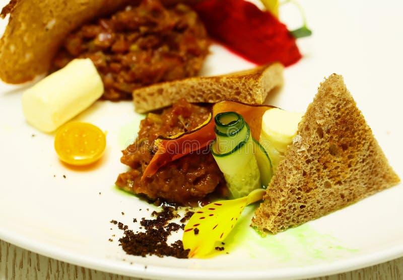 Очень вкусная семенить закуска мяса стоковые фотографии rf