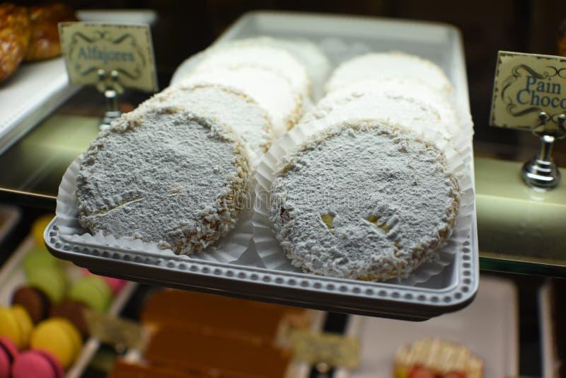 Очень вкусное Alfajores стоковое изображение