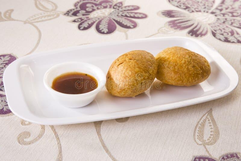 Очень вкусное Kachori стоковое изображение rf