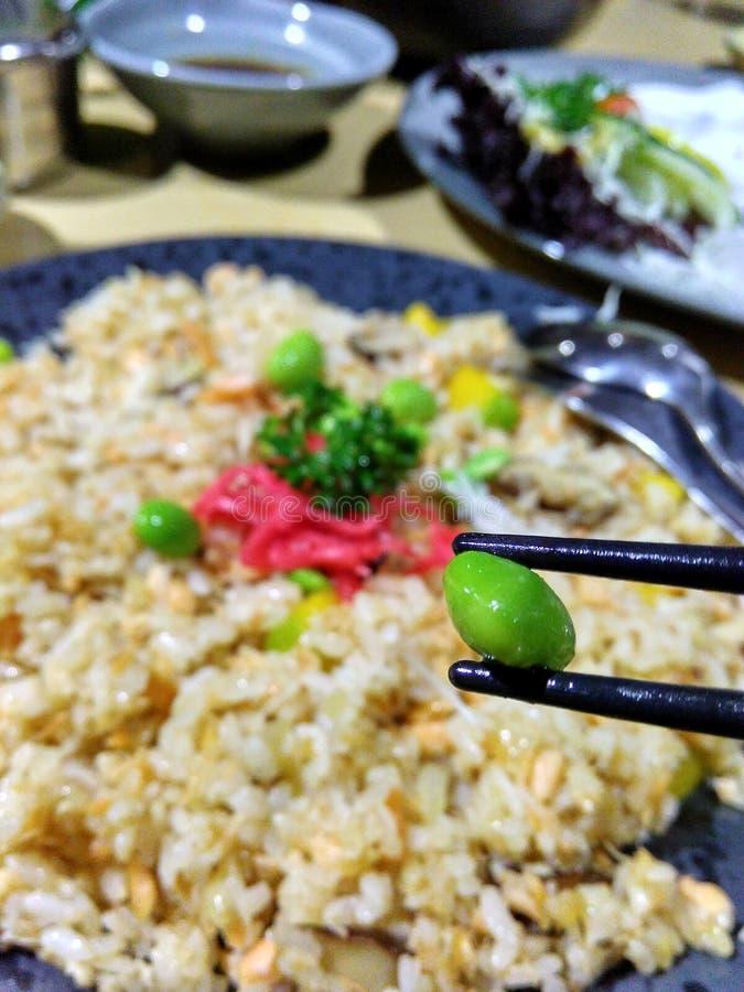 Очень вкусные Vegetable жареные рисы стоковые изображения rf