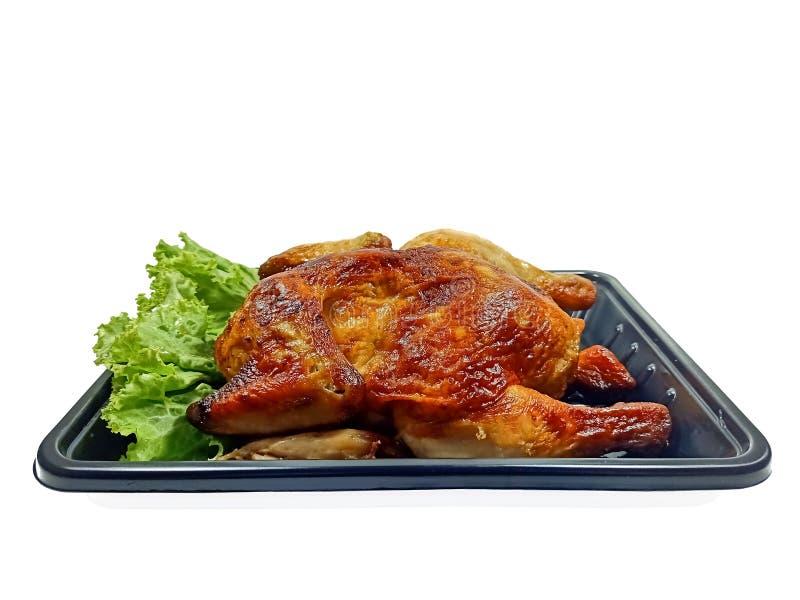 Очень вкусный зажаренный рецепт цыпленка секретный стоковые фотографии rf