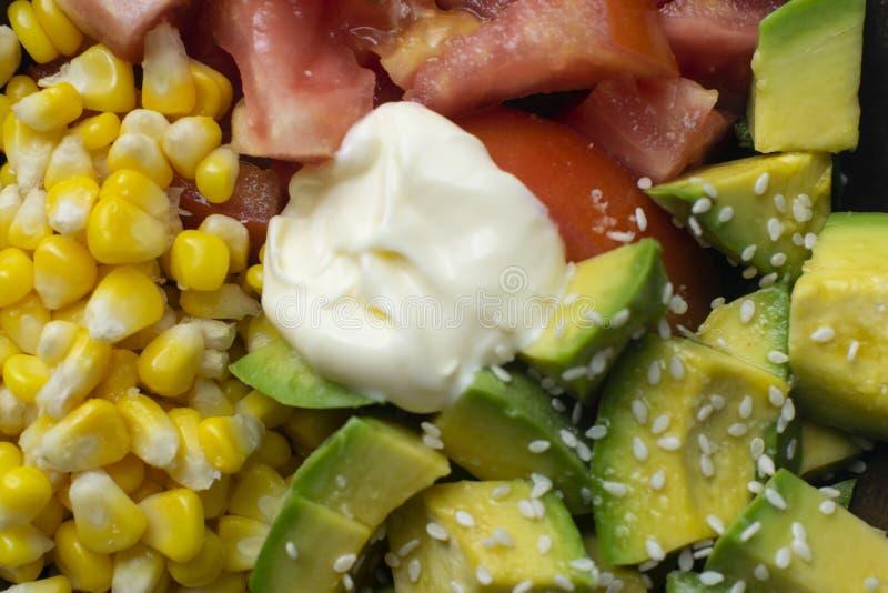 Очень вкусный обед здоровых и vegan стоковые фото