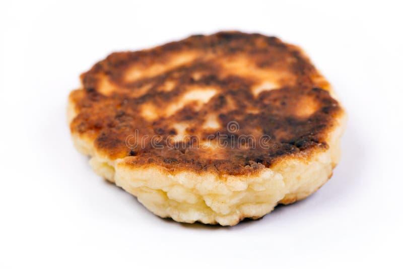 Очень вкусный домодельный блинчик сыра стоковая фотография rf