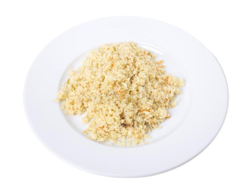 Очень вкусный рис с овощами стоковая фотография rf