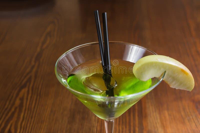Очень вкусный спиртной коктеиль стоковые изображения