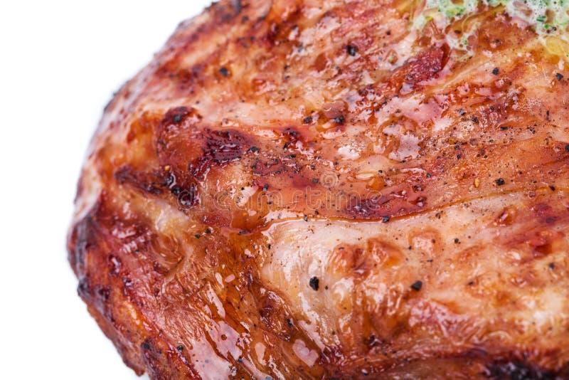 Очень вкусный стейк говядины стоковые изображения rf