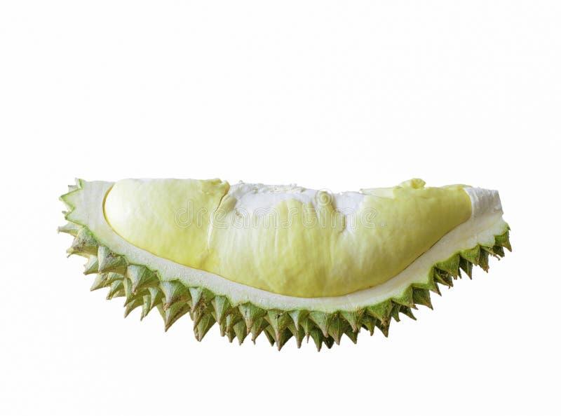 Очень вкусный тайский дуриан на белой предпосылке стоковые изображения