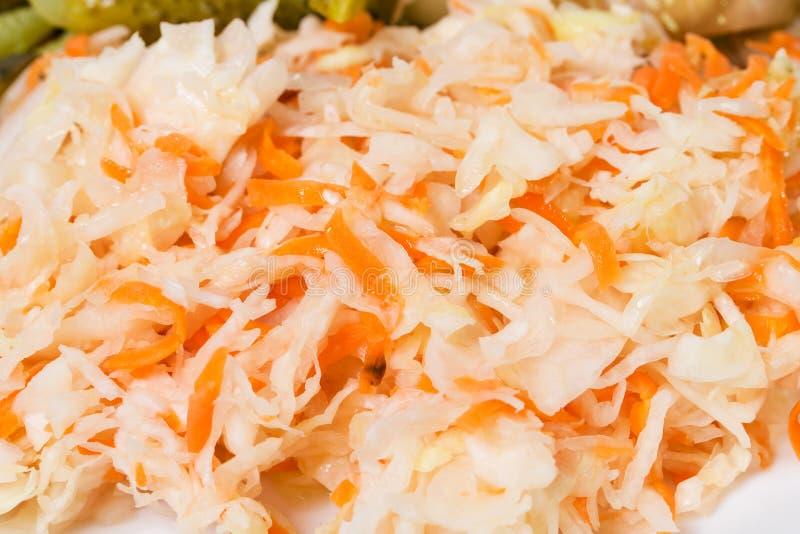 Очень вкусный marinated sauerkraut стоковое изображение rf