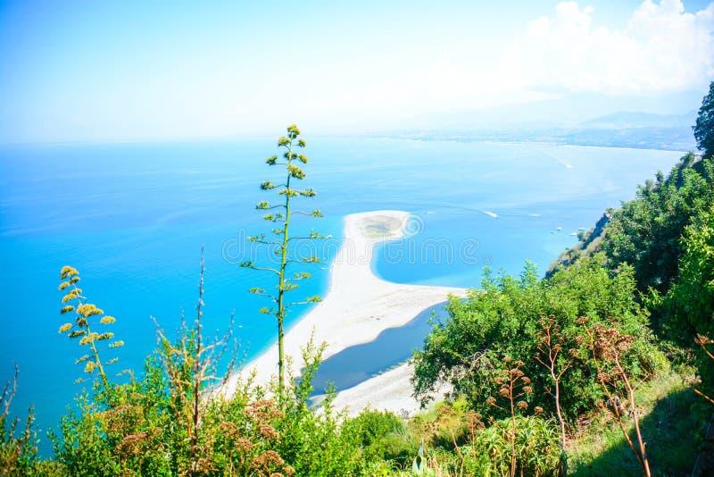 Очень красивые итальянские пляжи стоковое изображение rf