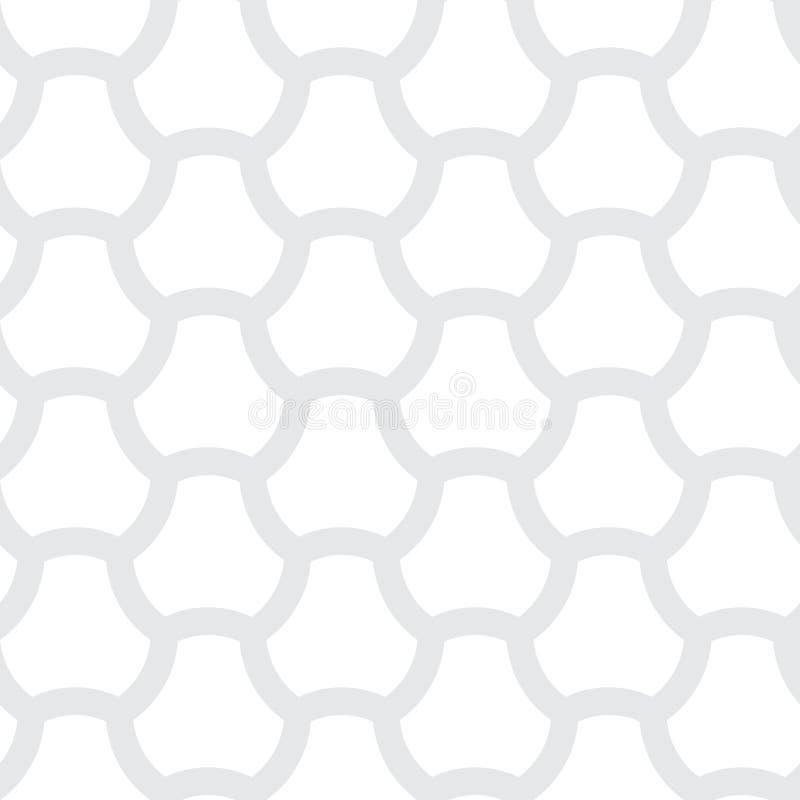 Очень простая но конгениальная картина вектора - безшовный художнический bac бесплатная иллюстрация