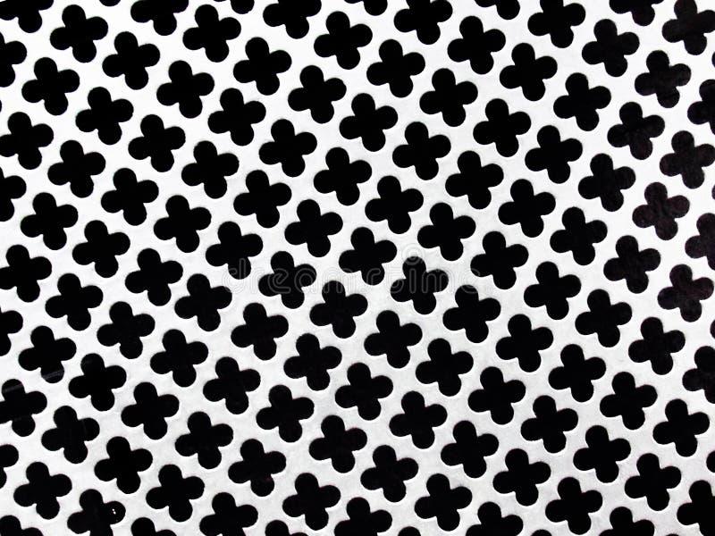 Очень славный конец вверх по съемке белой и черной стальной решетки иллюстрация штока