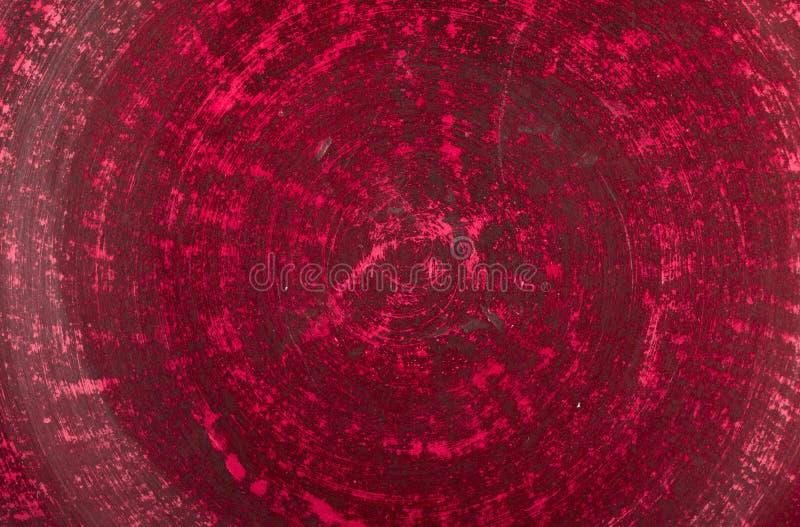 Очень старые красные предпосылка или текстура стены grunge стоковые изображения rf