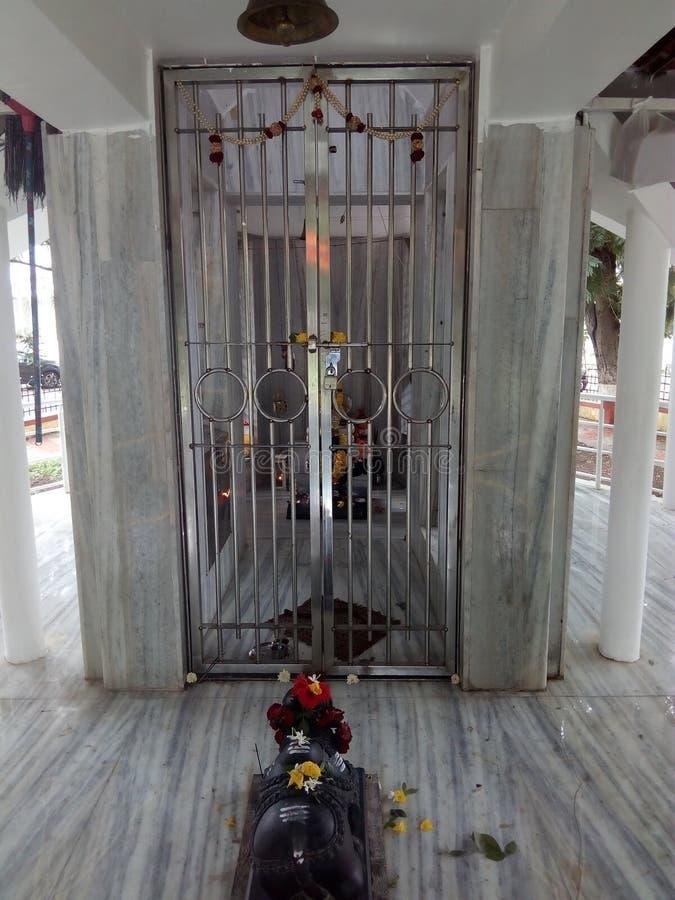 Очень хорошее изображение внутренней стороны виска лорда Shiva стоковое фото