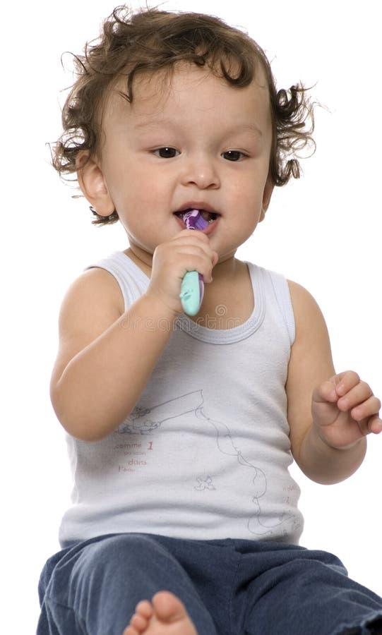 очистьте зубы стоковая фотография rf