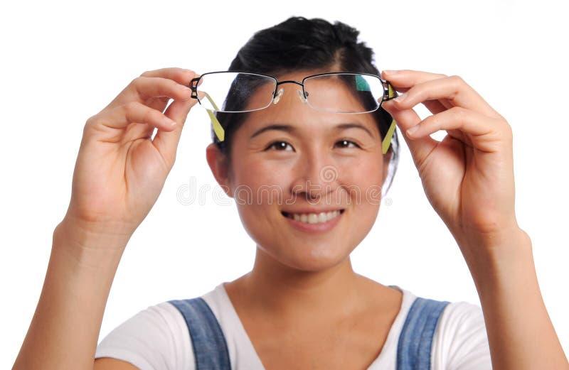 Очистьте стекло стоковое изображение