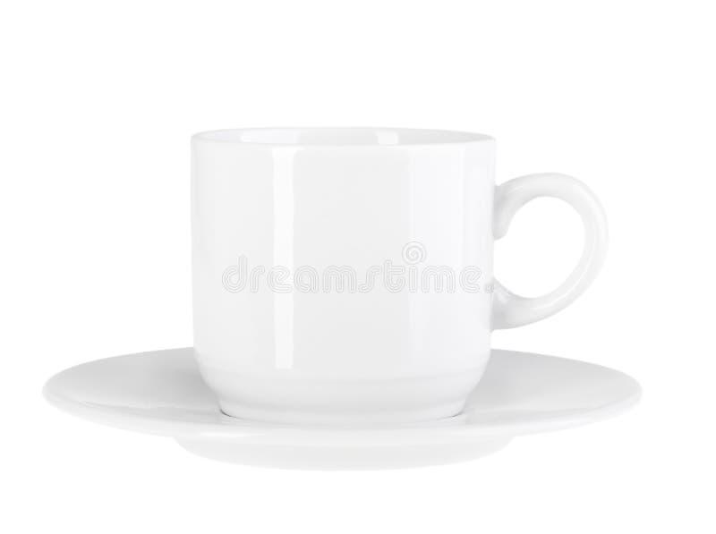 Чашка и поддонник стоковая фотография rf