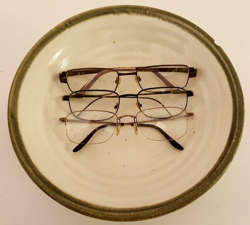 Очки стоковая фотография