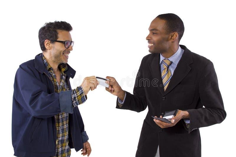 Очковтирательство кредитной карточки стоковые фото
