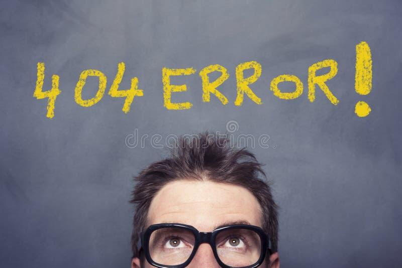 ошибка 404 стоковая фотография rf