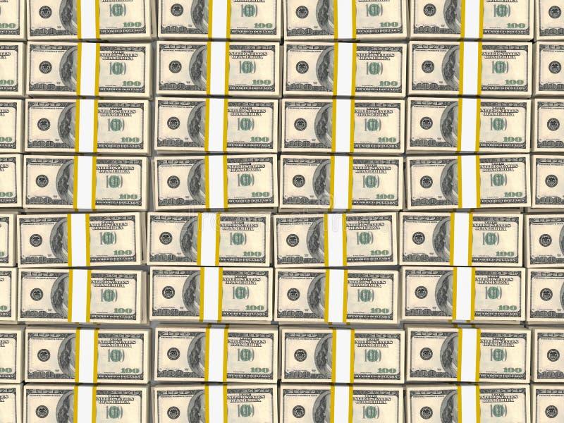 100 долларов США иллюстрация вектора