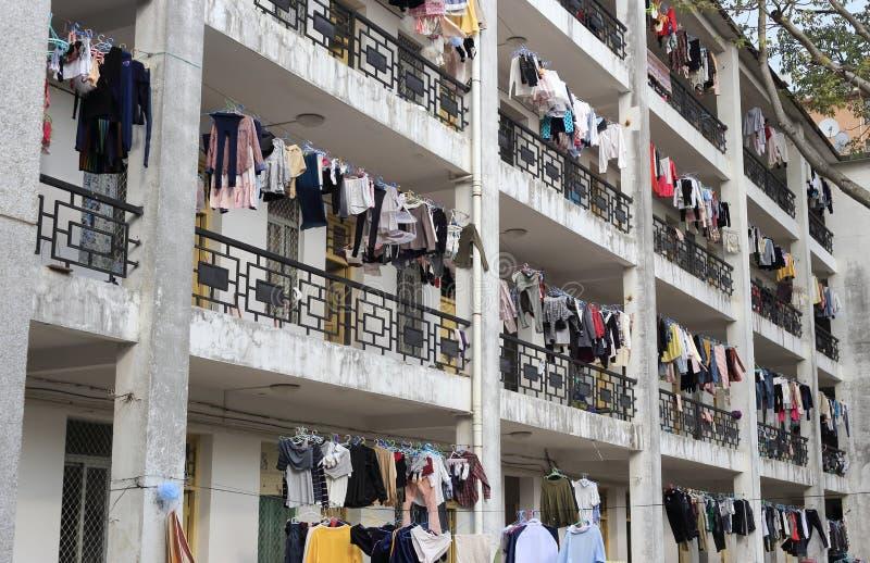 Одежды засыхания стоковые изображения rf