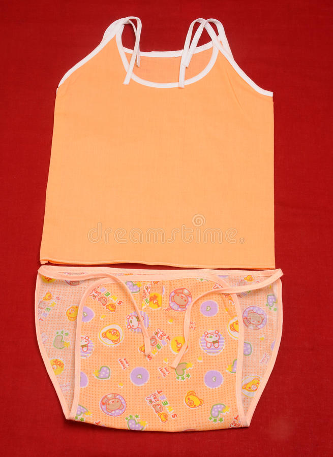 Одежды младенца стоковое изображение rf