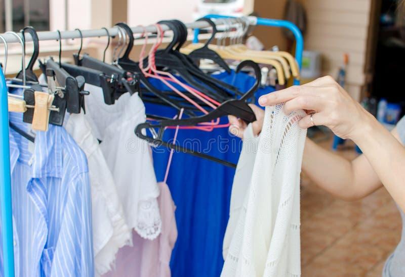 Одежды проветривания стоковое изображение rf