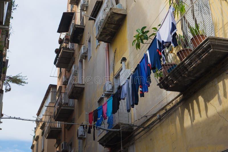 Одежды смертной казни через повешение в Неаполь стоковые фото