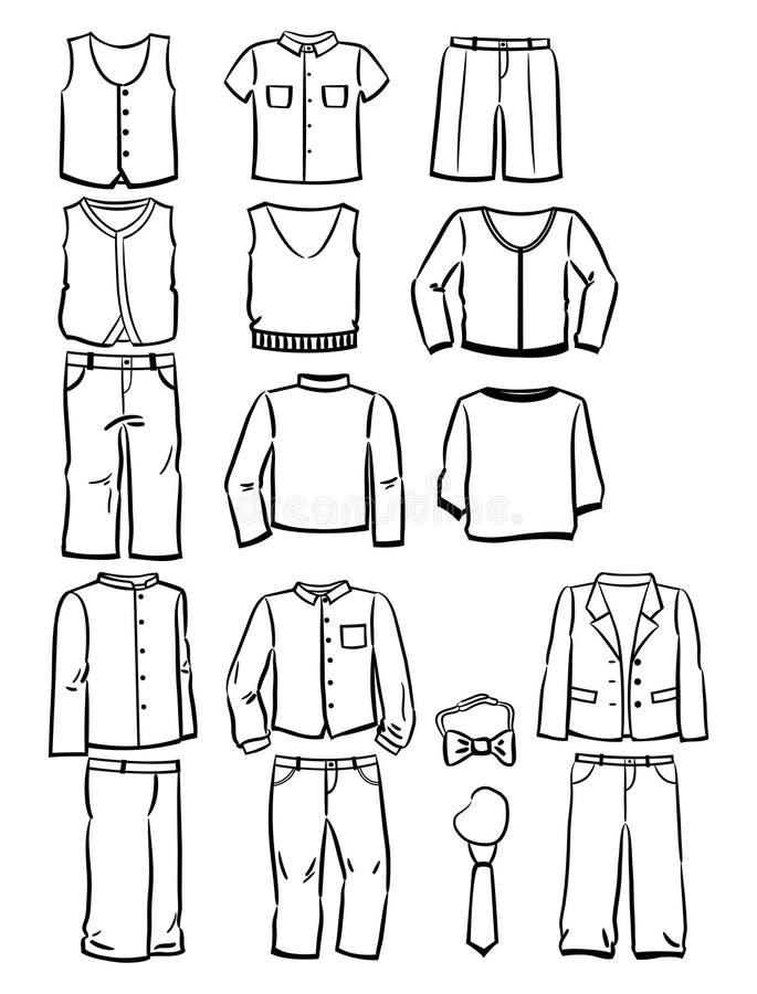 Рисунок школьная форма для мальчиков