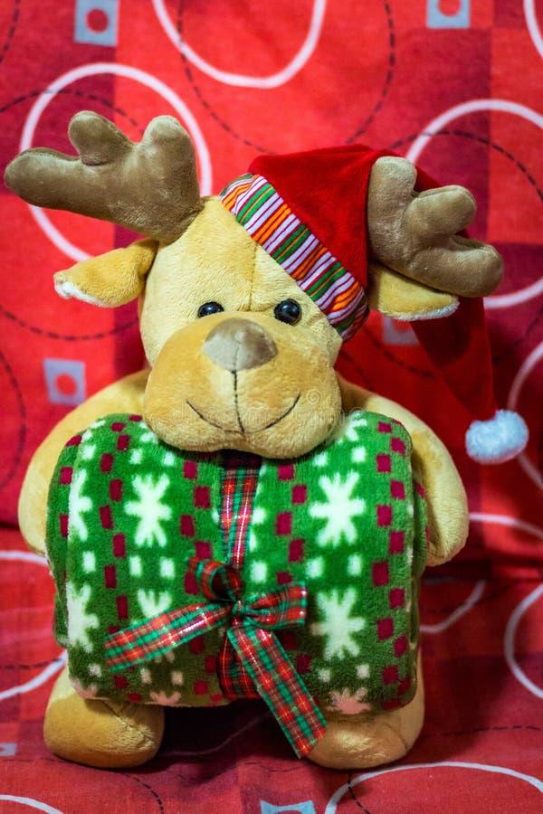 Download Олени рождества Санта Клауса Стоковое Изображение - изображение насчитывающей ангстрома, человек: 81802471