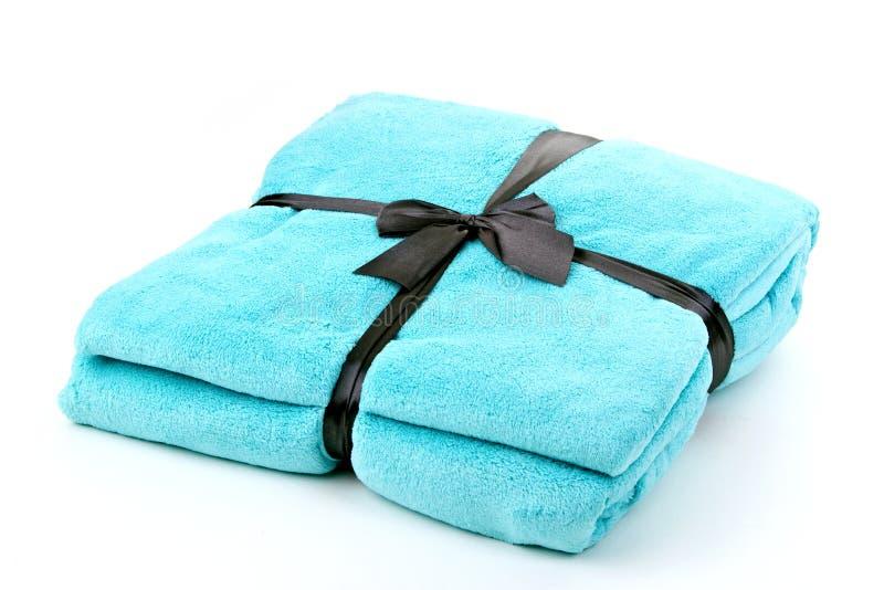 Одеяло бирюзы стоковая фотография rf