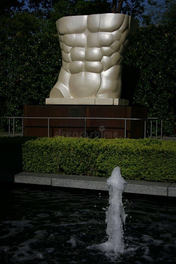 Олимпийский музей в Лозанне, Швейцарии стоковые фото
